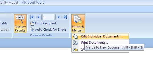 mail merge to individual pdf documents
