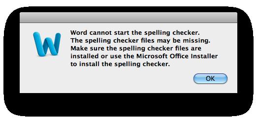 Word 2011 Spell Cheker problem | Tech Kaki | Tips and Tricks for Mac