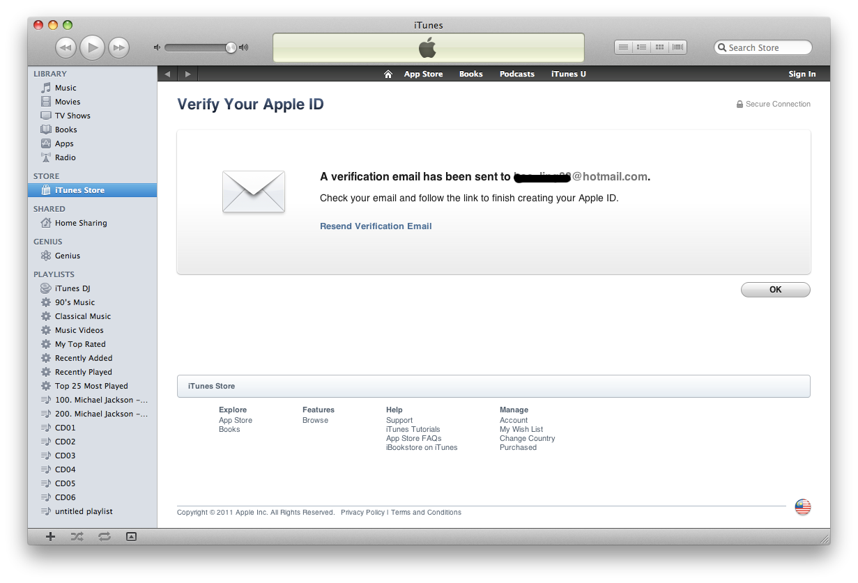 how to finish verifying apple id