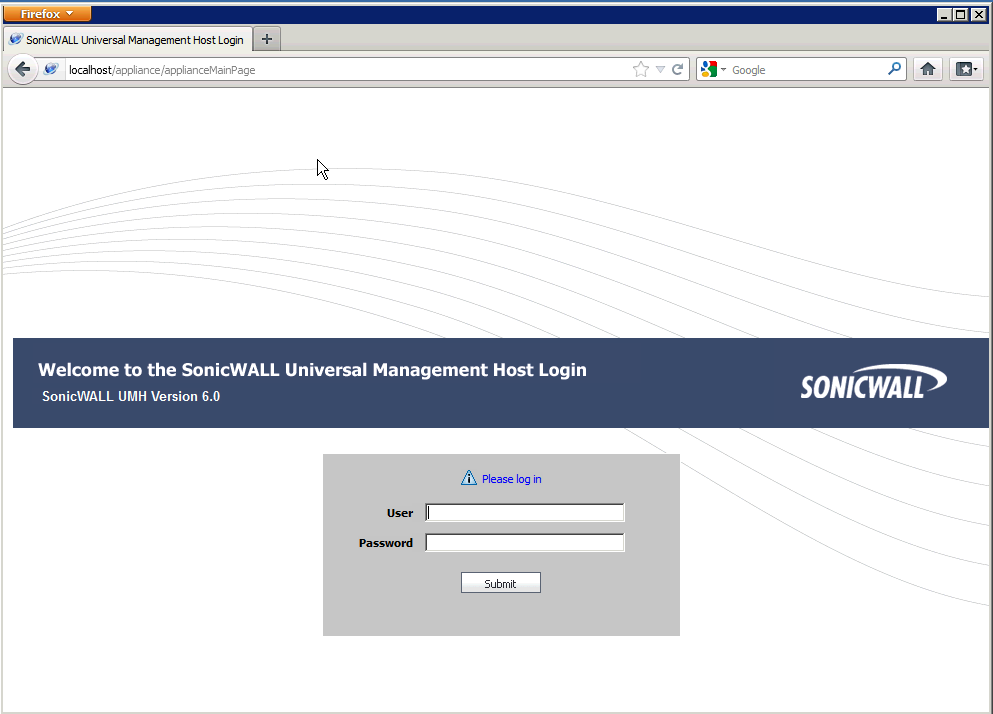sonicwall UMH