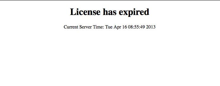 Directadmin expired