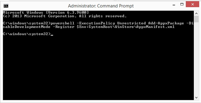 how to open command prompt as an administrator windows 8.1