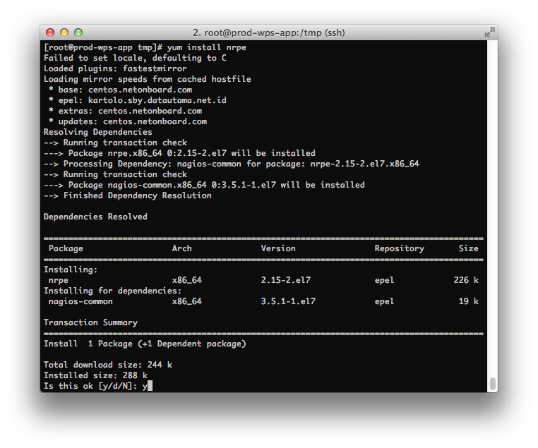 Installing NSClient++ - NSClient++